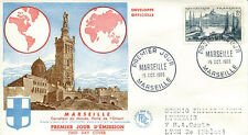FRANCE FDC - 134 1037 1 MARSEILLE - 15 10 1955