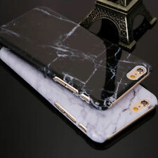 Type Glossy Granite Marbre TPU Souple Phone Coque pour iPhone X 7 6 6 S 8 Plus