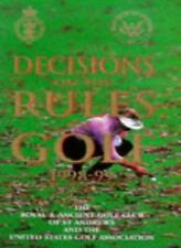 Decisions on the Rules of Golf 1998-99 By Royal and Ancient Golf Club of St.And