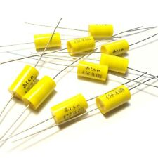 10x Capacitor 0.0047uF 4.7nF 5% 630V DC Polypropylene Axial Valve Metal Film
