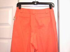 New!  TALBOTS PETITES women's orange casual pants Size 4 (p)  26 x 28