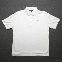 Masters Collection Mens XL Short Sleeve White Polo Augusta National