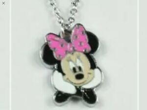 MINNIE MOUSE NECKLACE IN PINK