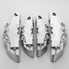 4pcs Silver Caliper Brake Cover For BMW M-BENZ AUDI VW Honda Toyota Mitsubishi