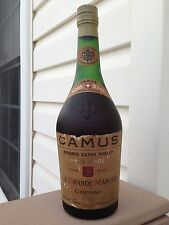 """CAMUS """"Hors-d' 'AGE"""" Réserve extra vieille vieux cognac bouteille!"""