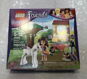 NEW Unopened LEGO Friends Olivia's New Foal 41003