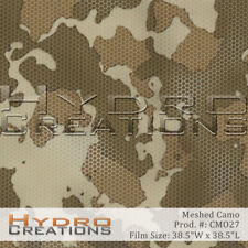 "Hydrographic Film Hydro Dipping Water Transfer Film Meshed Camo (38.5"" x 38.5"""