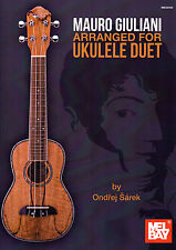 Mauro Giuliani Arranged For Ukulele Duet By Ondrej Sarek TAB Sheet Music Book