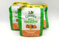 GREENIES Pill Pockets Cheese Flavor Capsules for Dogs - 60 Count