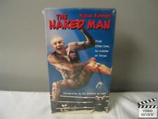 Naked Man VHS Brand New Michael Rapaport Screener