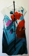 Jersey Short Sleeve Floral Regular Size Dresses for Women