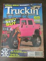 TRUCKIN MAGAZINE JULY 2005 CHEVY TAHOE GOODMARK STYLIN CONCEPT VORTEX TRUCK BED