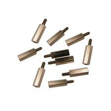 10 Distanzbolzen M4 x 30 mm Innen-Aussen Abstandsbolzen 30mm 853793