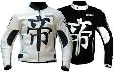 Biker moto chaqueta cazadora moto cuero L XL XXL 3XL 4XL 50 52 54 56 58