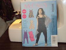 McCalls #6550 EASY Girl dress, jumpsuit, wrap sz 7,8,10,12,14