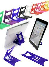 "Apple iPad Holder, Galaxy Tab 9"" 10"" Computer Tablet : BLUE iClip Folding Stand"