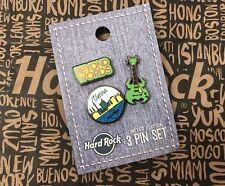 Hard Rock Cafe HRC VIENNA VIENNE 3 Pin Set MERVEILLES PINS NEW NEUF