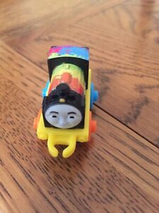 Thomas and Friends Minis - Neon Splatter Paint - new