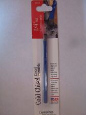 """1/4"""" Cold Chisel  Dasco  # 400-0 Made in USA   NEW"""