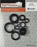 9pc Engine Oil Seal Kit Fits Yamaha YZ125 YZ 125 1989-1992