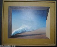 Öl-Malerei auf Leinwand von 1950-1999 Surrealismus-künstlerische