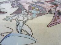 Silver Surfer Animation Cel Vintage Superhero Animated Film Marvel Comic Book