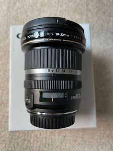 Canon EF-S 10-22mm f/4.5 USM Lens - AS NEW