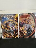 Amazing Spiderman 797 Through 800 Variant Covers 1st Red Goblin Venom Appearance