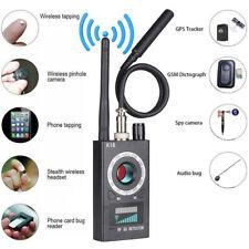 RF K18 Signal Detector Bug Anti-spy Detector Camera GSM GPS Scan Audio Finder