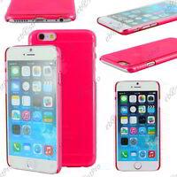"""Coque Housse Etui Rigide Ultra Fin Slim Rose Apple iPhone 6 Plus 5,5"""""""