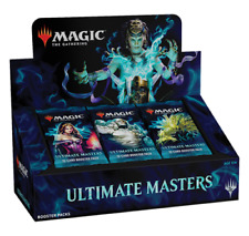 MTG Ultimate Masters Booster Box WITHOUT BOX TOPPER (24 Sealed Packs) NEW