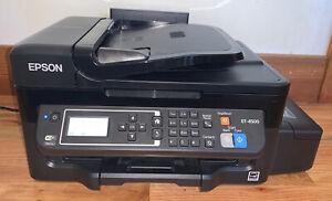 Epson WorkForce ET-4500 EcoTank Wireless Color All-in-One Supertank Printer