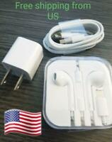 All iPhone Accessories Charger Lightning, Cable &Lightning  Earphones