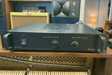 Nova Pa600 Stereo Power Amplifier - Powerful And Elegant - A Tank In Tuxedo