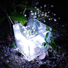 LED Fairy Light Solar For Mason Jar Lid Insert Color Changing Garden Decor