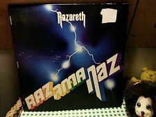 NAZARETH Razamanaz LP 1973 UK 1st Press STEREO MOONCREST CREST 1 !!! RARE A1B1