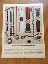 1967 Caravelle Bulova Watches  Ad