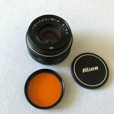 MC HELIOS 81H 50/2 Russische Biotar Nikon F-Mount-Objektiv