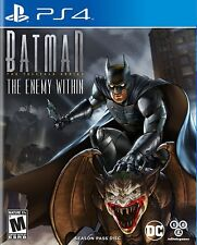 Batman The Enemy Within The Telltale Series Season Pass Disc Sony PlayStation 4