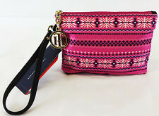 TOMMY HILFIGER Novelty Pink Flat Wristlet Wallet  Msrp $48.00 *NEW WITH TAG*