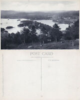 1920's BOWNESS FROM FURNESS FELL LAKE DISTRICT CUMBRIA POSTCARD