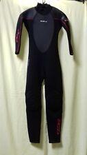 Tiki TKS Wetsuit 3/2mm Black/Red Stitching Size L Ladies Surf sail