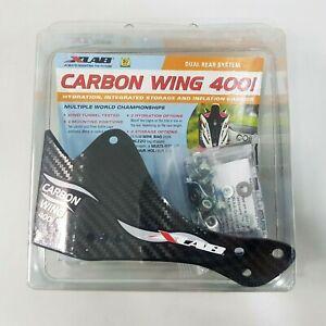 XLab 400I Dual Bottle Rear Carriers Mount Carbon Wing Black