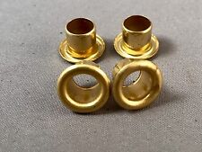Antique Wood Wall Telephone Brass Eyelets - SKU - 21286