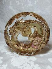 Swarovski LARGE GOLDEN DRAGON CHINESE ZODIAC 5063126 CRYSTAL FIGURINE GOLD