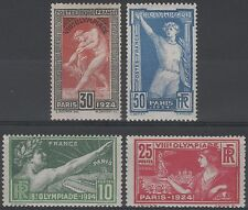 "FRANCE STAMP TIMBRE 183 / 186 "" JEUX OLYMPIQUES PARIS 1924 "" NEUFS xx LUXE K184B"