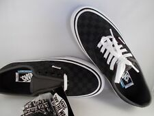 VANS Authentic Pro Checkerboard Black Suede UltraCush Shoes Men's Size 13 NIB