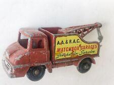 1960's Vintage Matchbox Lesney No.13c Ford Thames Trader Wreck Truck.