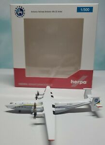 Herpa 1:500 Antonov Airlines AN-22 UR-09307 Antei New Livery 532648