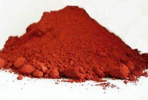 RED IRON (III) OXIDE rust powder | ferric oxide | fine red pigment | High grade
